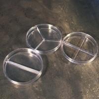 Чашки Петри пластиковые